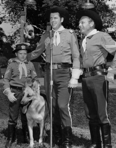 Rin-Tin-Tin, Rusty, Master e Boone