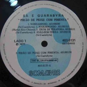 Sá e Guarabyra disco