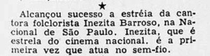 1952 Inezita na Nacional 2