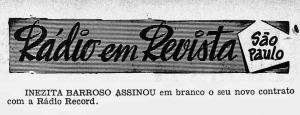 Revista do Rádio - 1955