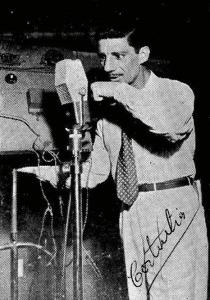 Mário Costa sonoplasta 1952