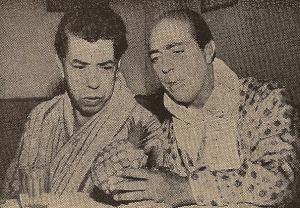 Walter D'Ávila e Zeloni na Tv Tupi
