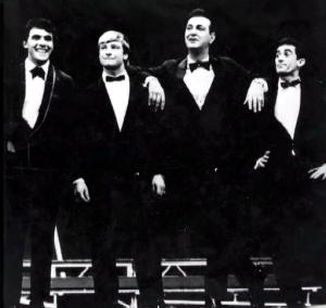 Wanderleiy Cardoso, Ted Boy Marino, Ivon Curi e Renato Aragão - Adoráveis Trapalhões - 1966