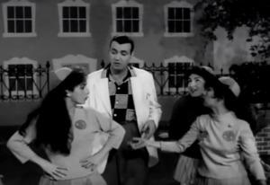 Ivon Curi em cena de Garota Enxuta - 1959