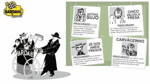 Cartaz promocional da Turminha Brava