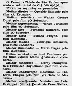 1957 Simonetti o melhor de 56 no cinema