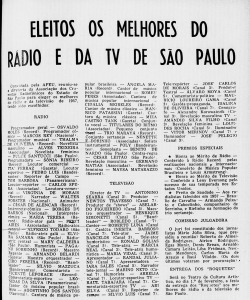 Revista do Rádio 1957