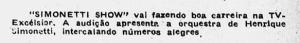 Revista São Paulo na TV 1960