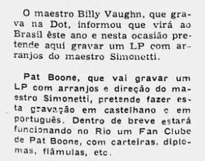 1960 Vaughan e Boone