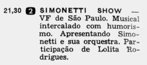 Revista Intervalo - 1962