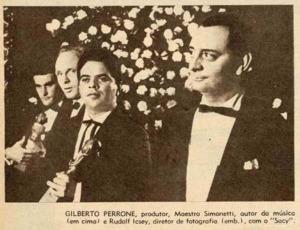 Entrega do Troféu Saci - 1963