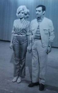 "Simonetti e Isabella Biangi no ""Sabatto Sera - 1968"