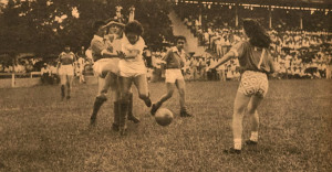 1959 Lance do jogo exibição Araguari A x Araguari B