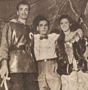 José Parisi, Péricles Leal e Zuleika Maria