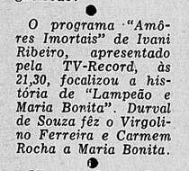 1956 - Durval de Souza em papel dramático