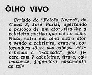 1957 Falcão Negro Parisi
