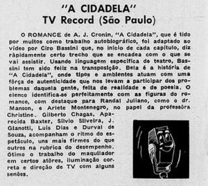 """Durval de souza em """"A Cidadela"""""""