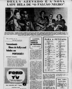 1958 faLCÃO NEGRO E A NOVA LADY BELA