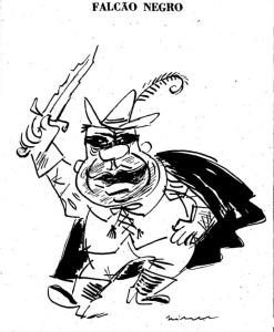 1959 Falcão Negro charge do armando falcão mis justiça gov juscelino