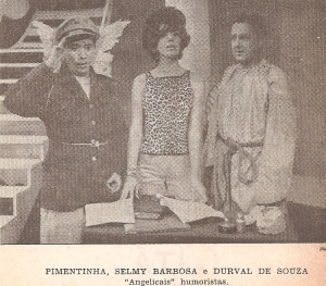1962 - Pimentinha, Selmy  Oliveira e Durval de Souza - Show 713