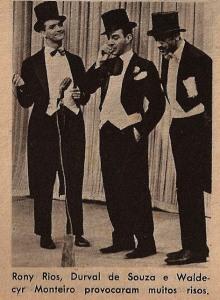 1965 - Rony Rios, Durval e Waldecyr Monteiro