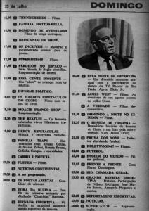 1967-07 Improvisa na TV Rio blota