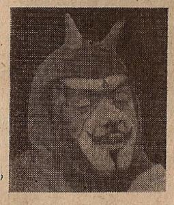 ... um personagem humorístico como o próprio diabo...