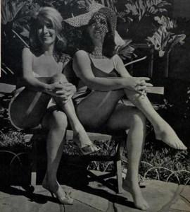 Zélia Hoffman e Lílian Fernandes