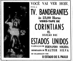 1967 - Fernando Solera narrando basquete