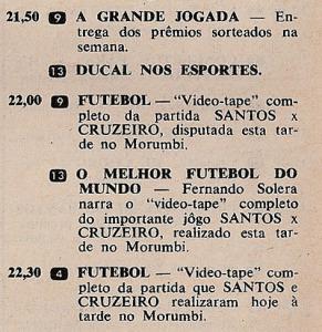 1968 - O melhor futebol do mundo no 13 - Criação de Solera