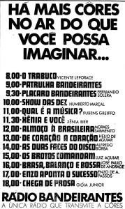 1970 - Fernando Solera, nome sempre presente na Rádio Bandeirantes